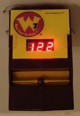 Whizometer at 122mph