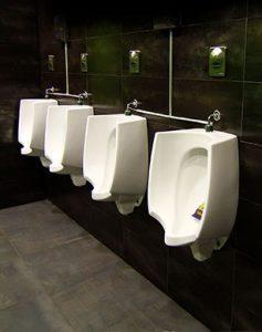 clean bar urinals